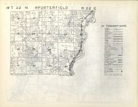 Wagner, Porterfield T32N-R22E, Marinette County 1954